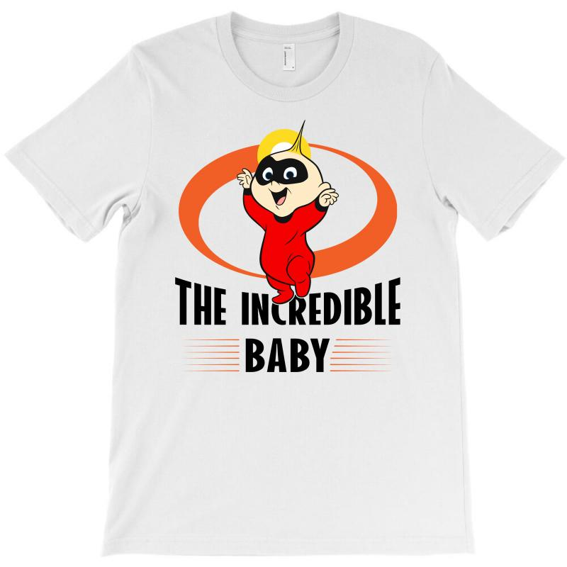 The Incredible Baby T-shirt   Artistshot