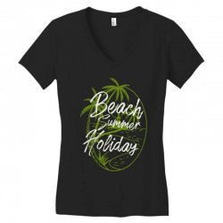 beach island Women's V-Neck T-Shirt | Artistshot