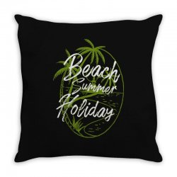 beach island Throw Pillow | Artistshot