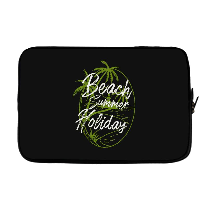Beach Island Laptop Sleeve | Artistshot