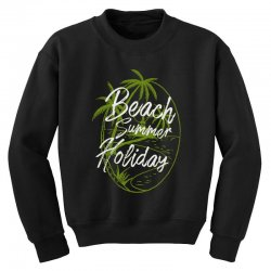 beach island Youth Sweatshirt | Artistshot