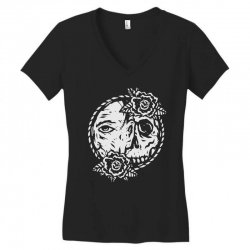 behind Women's V-Neck T-Shirt | Artistshot