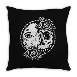 behind Throw Pillow | Artistshot