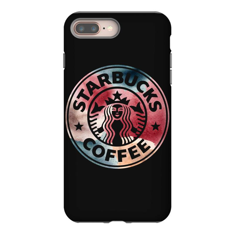 new style f7bff c3633 Starbucks Watercolor Coffee Iphone 8 Plus Case. By Artistshot