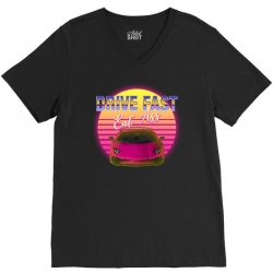 drive fast eat ass V-Neck Tee | Artistshot