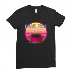 drive fast eat ass Ladies Fitted T-Shirt | Artistshot