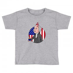 birthday washington Toddler T-shirt | Artistshot
