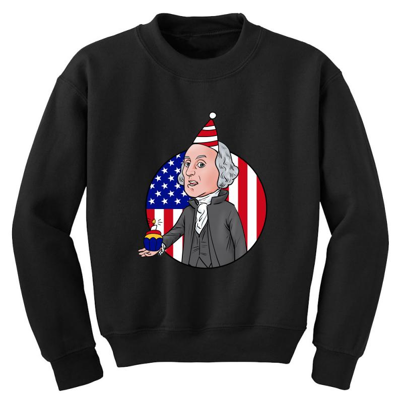 Birthday Washington Youth Sweatshirt | Artistshot
