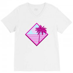 beach for light V-Neck Tee | Artistshot