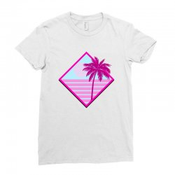 beach for light Ladies Fitted T-Shirt | Artistshot