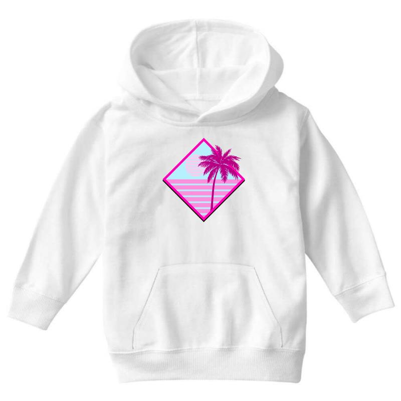 Beach For Light Youth Hoodie | Artistshot
