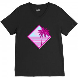 beach for dark V-Neck Tee | Artistshot