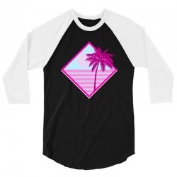 beach for dark 3/4 Sleeve Shirt | Artistshot