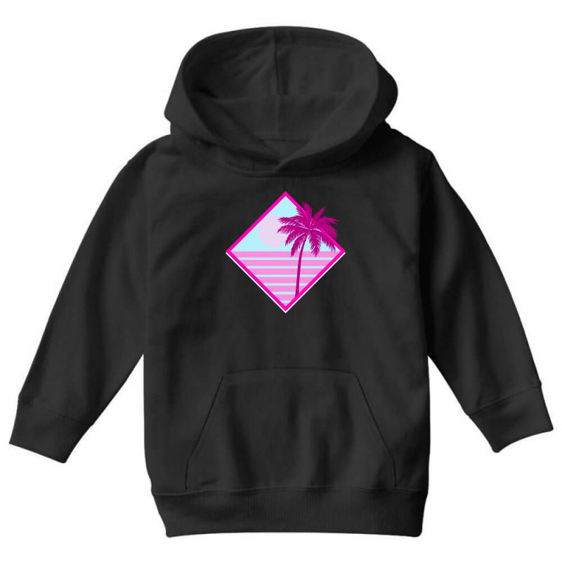 Beach For Dark Youth Hoodie | Artistshot