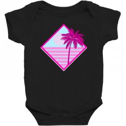 beach for dark Baby Bodysuit | Artistshot