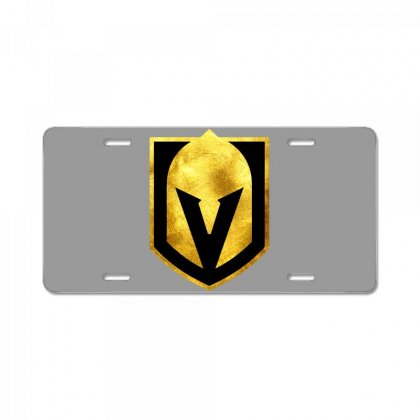 Golden Knights Gold License Plate