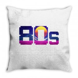 80s vaporwave Throw Pillow | Artistshot