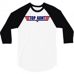 top gun aunt 3/4 Sleeve Shirt | Artistshot
