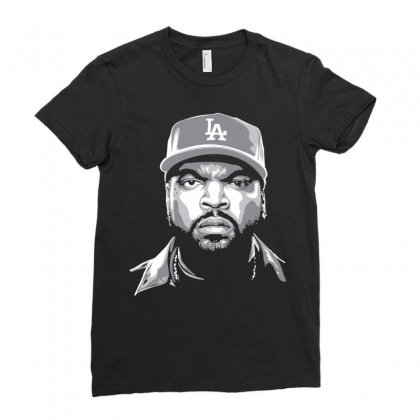 Ice Cube Ladies Fitted T-shirt