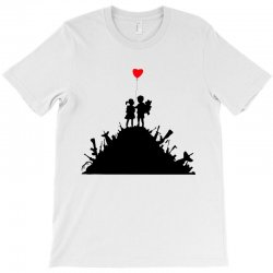 Banksy Kids On Guns T-Shirt | Artistshot