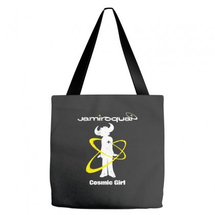 Jamiroquai Cosmic Girl Tote Bags Designed By Silicaexil