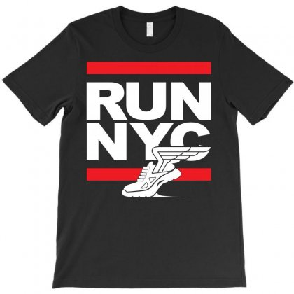 Run Nyc T-shirt Designed By Silicaexil