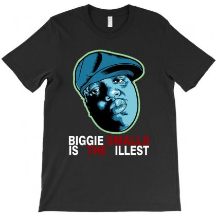 Biggie Smalls Illest T-shirt Designed By Silicaexil