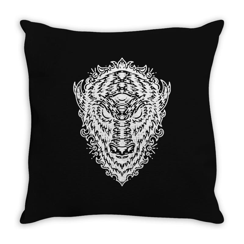 Byson Throw Pillow | Artistshot