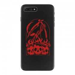burn the skull iPhone 7 Plus Case | Artistshot