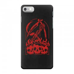 burn the skull iPhone 7 Case | Artistshot
