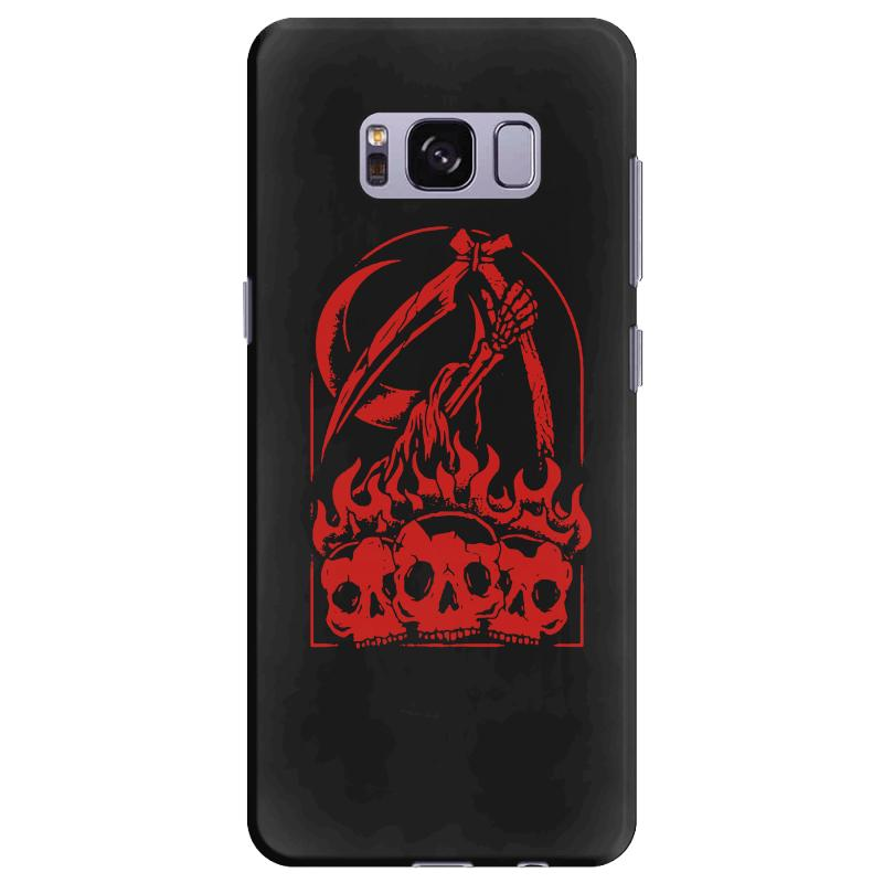 Burn The Skull Samsung Galaxy S8 Plus Case | Artistshot