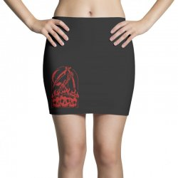 burn the skull Mini Skirts | Artistshot