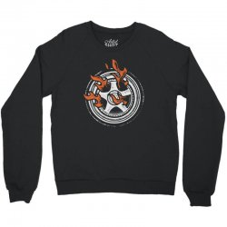 burn rings Crewneck Sweatshirt | Artistshot