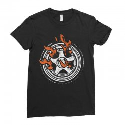 burn rings Ladies Fitted T-Shirt | Artistshot