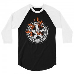 burn rings 3/4 Sleeve Shirt | Artistshot