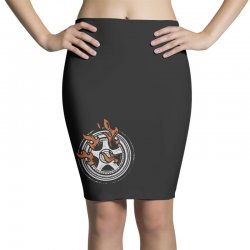 burn rings Pencil Skirts | Artistshot