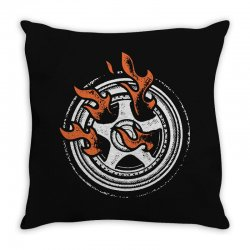 burn rings Throw Pillow | Artistshot