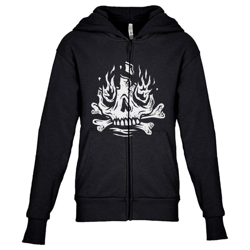 Burn Away Youth Zipper Hoodie | Artistshot