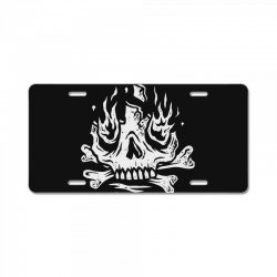 burn away License Plate | Artistshot