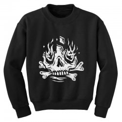 burn away Youth Sweatshirt | Artistshot