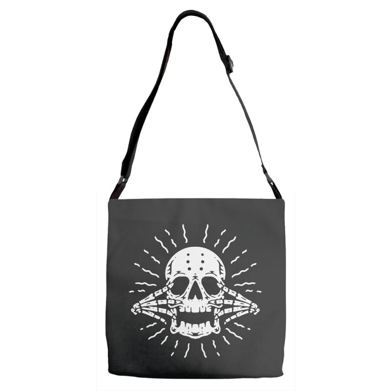 Blinding Adjustable Strap Totes | Artistshot