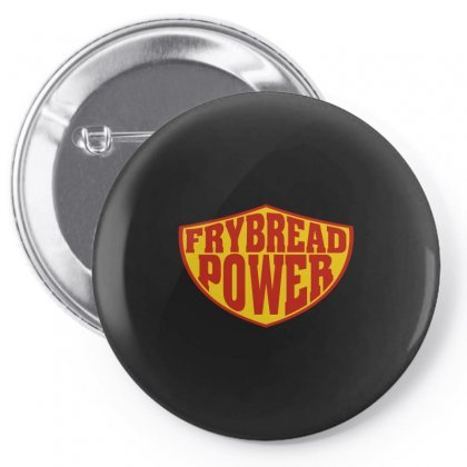 Frybread Power Pin-back Button Designed By Motleymind