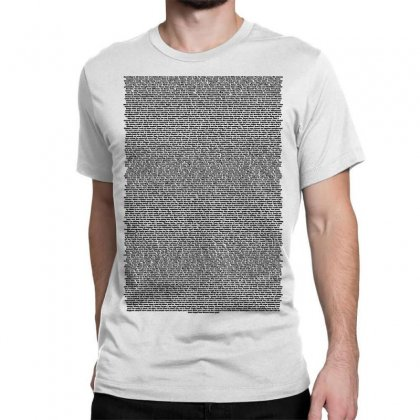 Bee Movie Script White Shirt Classic T-shirt Designed By Vr46