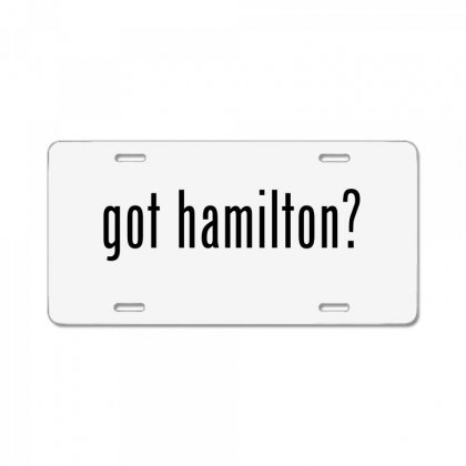 Got Hamilton Musical License Plate Designed By Vr46