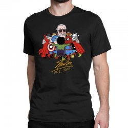 172f5f67 Memorial RIP Stan Lee The Father of Heroes Classic T-shirt | Artistshot