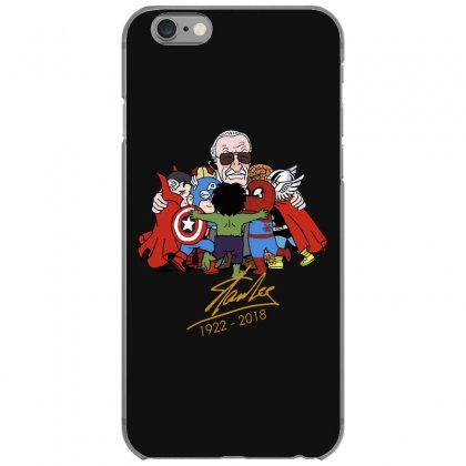 Memorial Rip Stan Lee The Father Of Heroes Iphone 6/6s Case Designed By Vr46