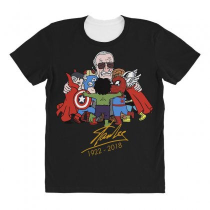 Memorial Rip Stan Lee The Father Of Heroes All Over Women's T-shirt Designed By Vr46