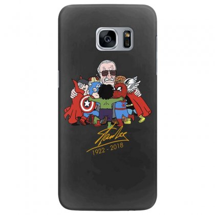 Memorial Rip Stan Lee The Father Of Heroes Samsung Galaxy S7 Edge Case Designed By Vr46