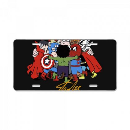 Memorial Rip Stan Lee The Father Of Heroes License Plate Designed By Vr46