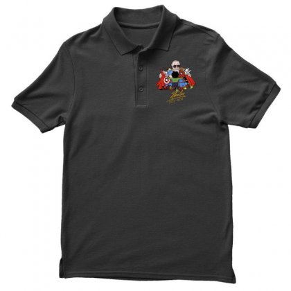 Memorial Rip Stan Lee The Father Of Heroes Men's Polo Shirt Designed By Vr46